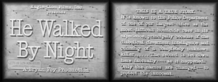 Kriminaltechnik im Film Noir