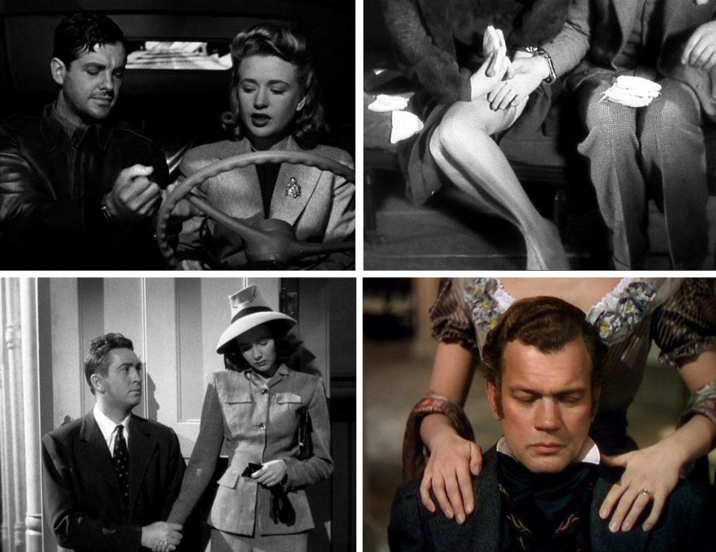 Paare in Alfred Hitchcocks Filmen