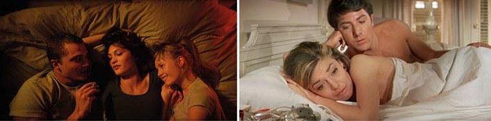 Elektra und Oedipus in The Graduate (1967) und Love (2015)